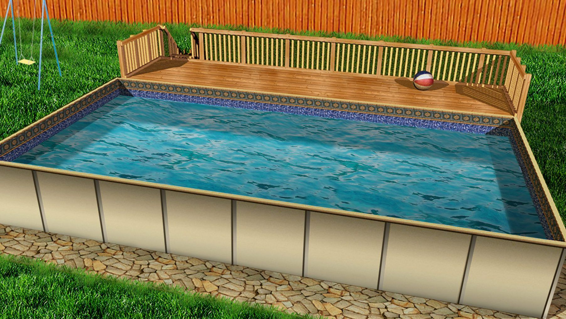 Rectangular Above Ground Swimming Pools Vs Classic Pools In 2020