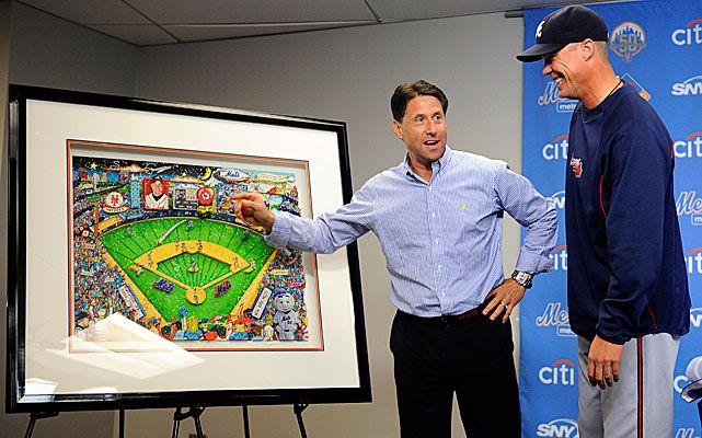Mets honor Chipper Jones...Classy!