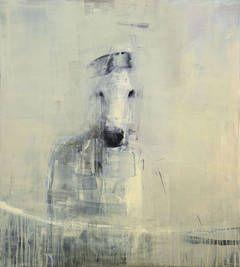 """""""White Horse"""" by Rebecca Kinkead"""