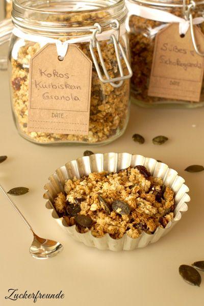 knuspriges granola selber machen zum fr hst ck oder als dessert genie en krunchy rezepte. Black Bedroom Furniture Sets. Home Design Ideas