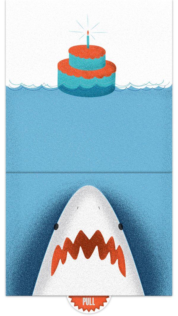Shark Birthday Cards My Birthday Pinterest Shark And Birthdays
