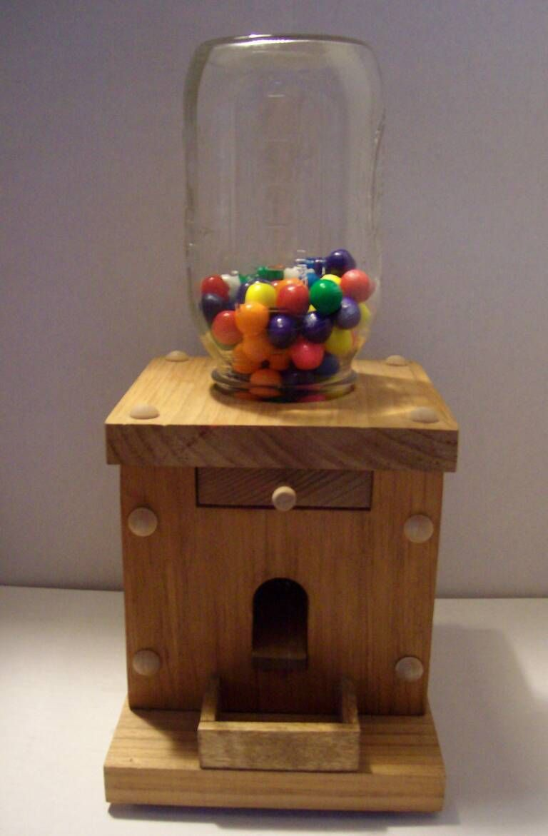 Free Woodworking Plans Candy Dispenser