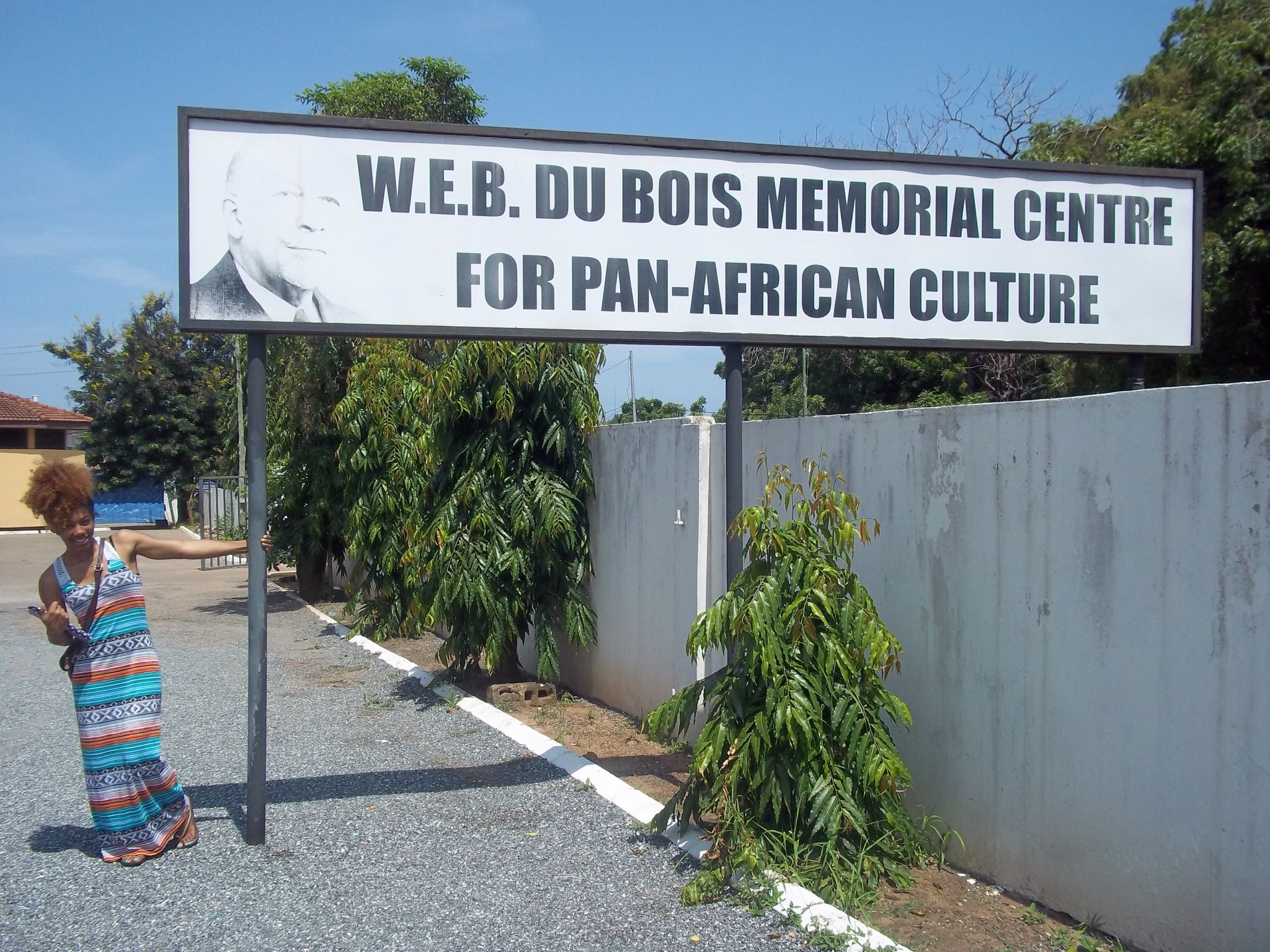 w e b dubois cultural center west africa we call it w e b dubois cultural center west africa