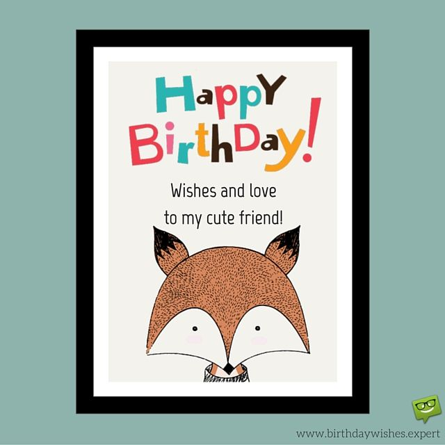 Birthday Wishes For Your Best Friends With Cute Images: Original Happy Birthday Images For Best Friends