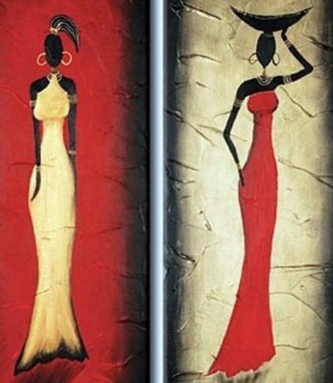 Plantillas de cuadro de africanas plantillas de cuadro - Plantillas para pintar cuadros ...