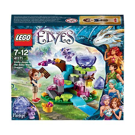LEGO Elves Emily Jones & the Baby Wind Dragon 41171 | Girls Toys ...