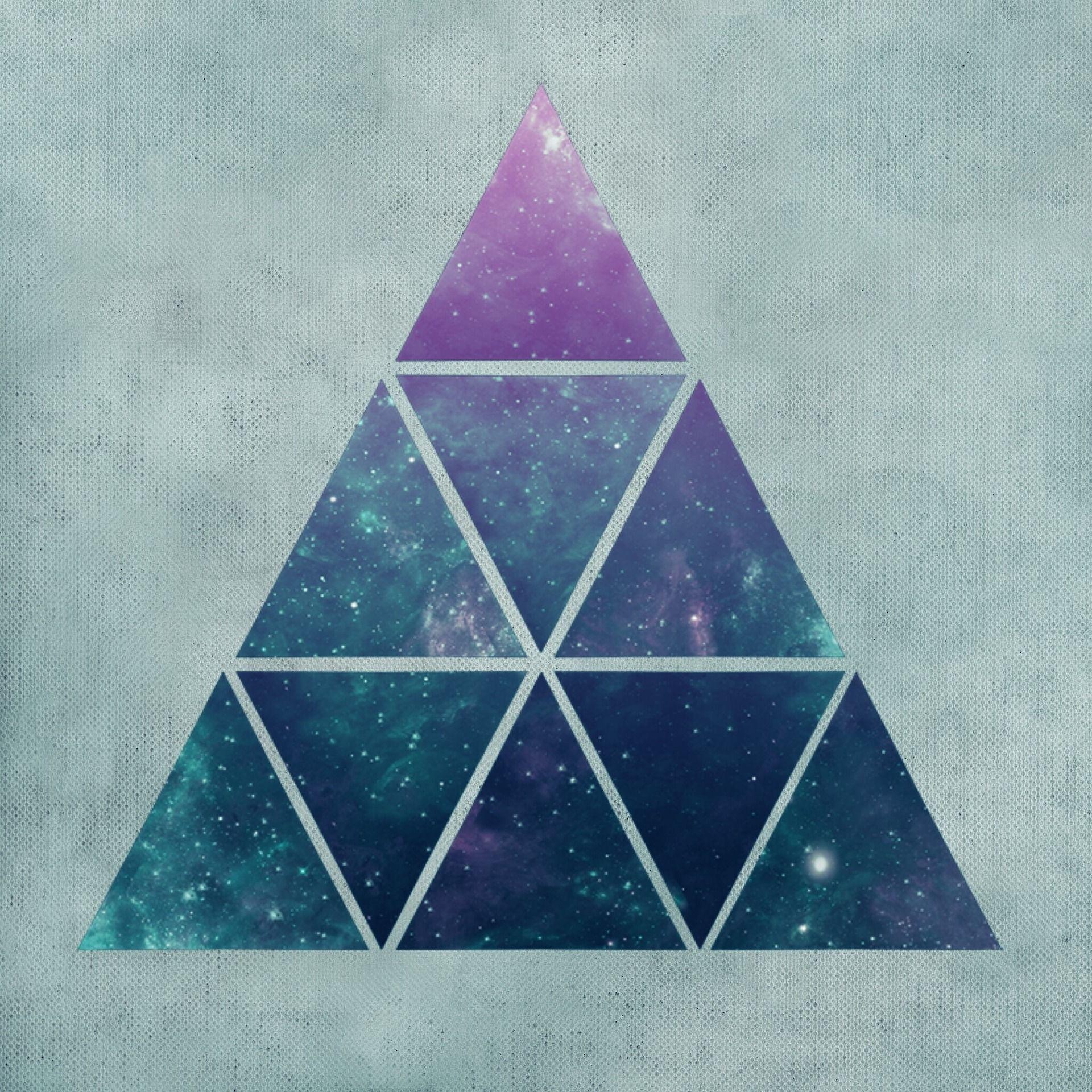 قانون محيط المثلث Triangle Tattoo Abstract Artwork Background