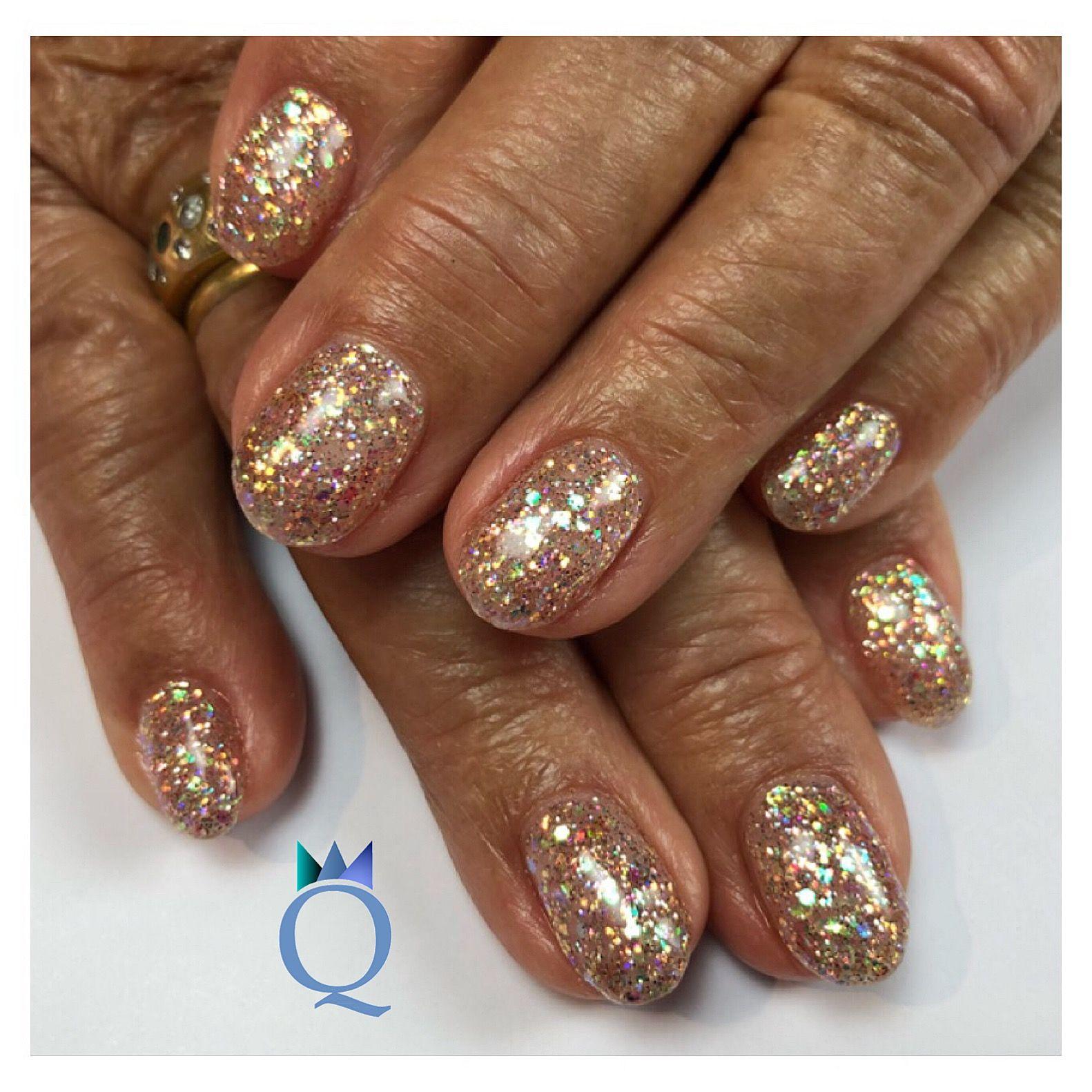 Faszinierend Nageldesign Braun Beige Foto Von #shortnails #gelnails #nails #beige #glitter #kurzenägel #gelnägel