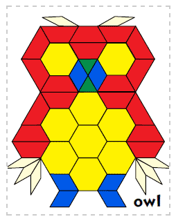 picture relating to Printable Pattern Blocks titled Types for developing with behavior blocks SpEd Math