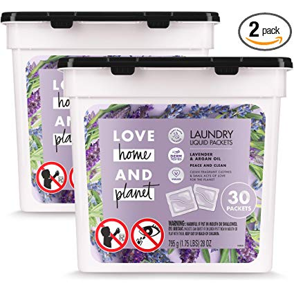 Amazon Com Love Home And Planet Laundry Detergent Packets