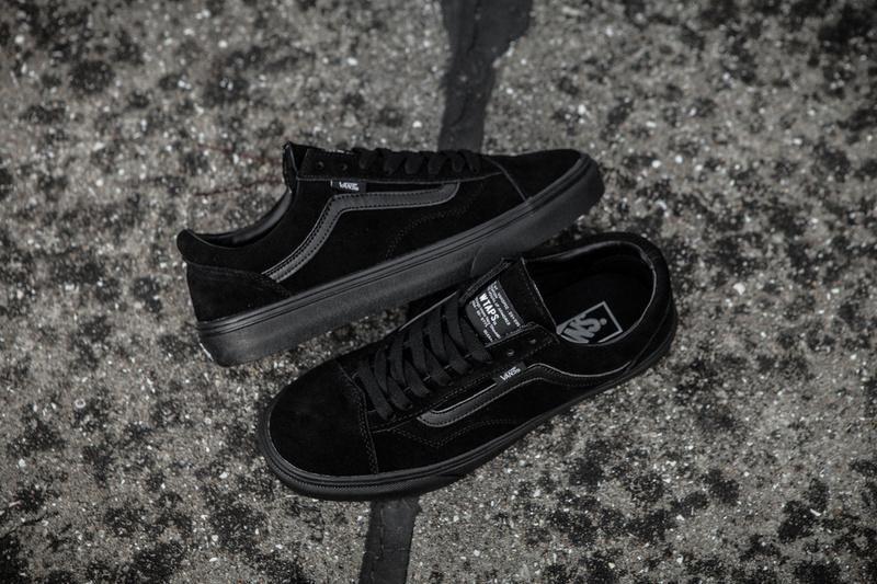 Vans X Vault X Watps Suede Old Skool Classic All Black Womens Shoes Vans Black Shoes Women Women Shoes Vans