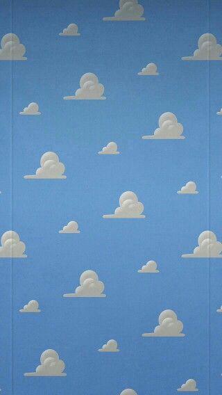 Toy Story Clouds Wallpaper Iphone Disney Disney Phone Wallpaper