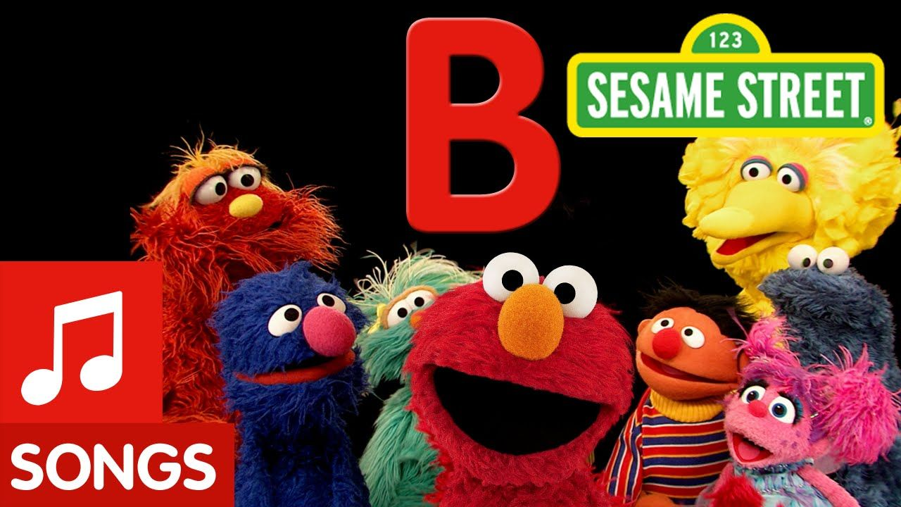 Sesame Street Letter B Letter of the Day