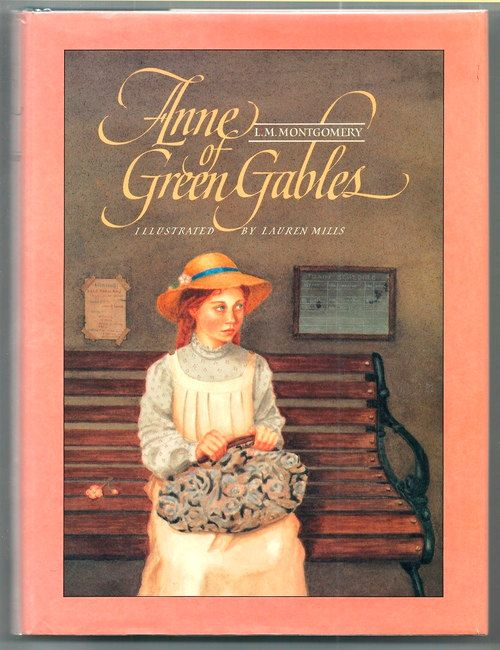 First Illustrated Book Cover : Anne of green gables first illustrated edition by l m