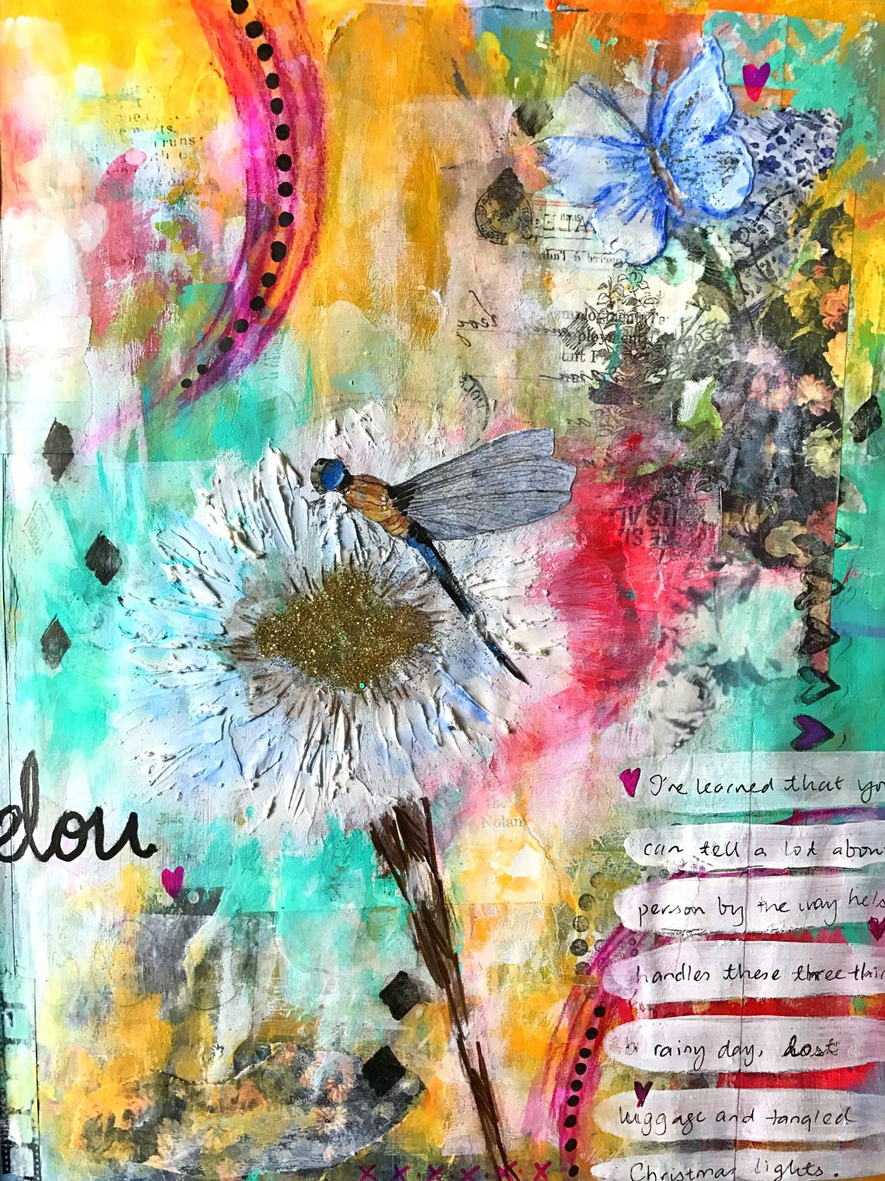 Journey Of Self Discovery By Teresa Low Art