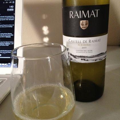 2011 Castell De Raimet Albariño - Fantastico! #wfmwine