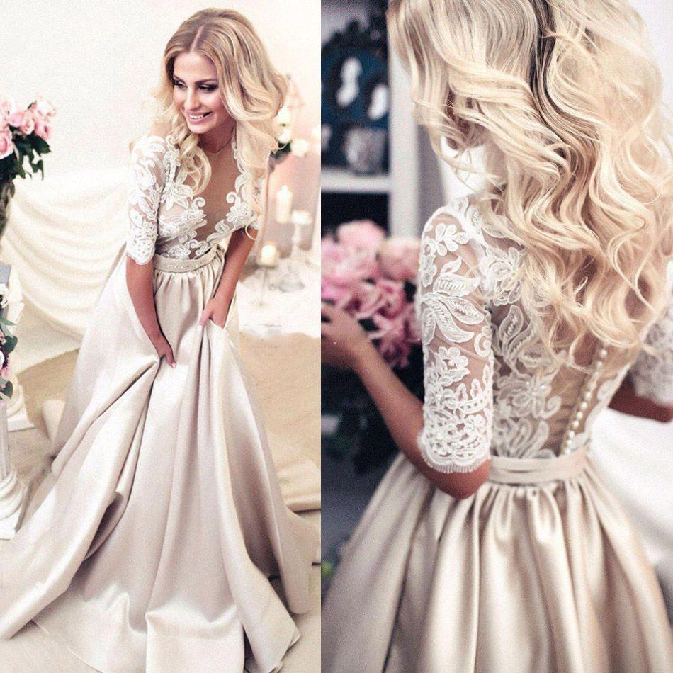 white floor length dresses with see through