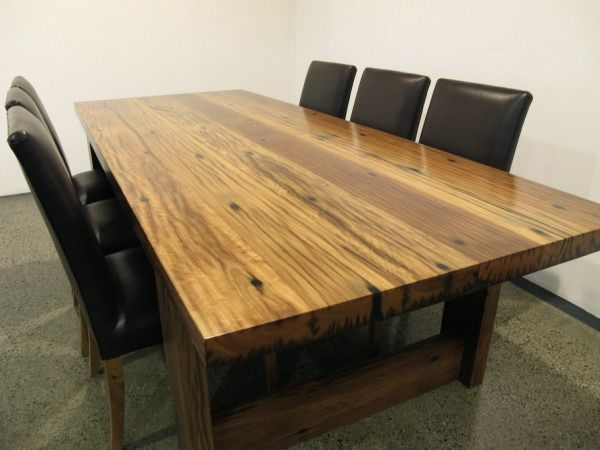 Recycled Iron Bark Timber Table From Christian Cole Furniture