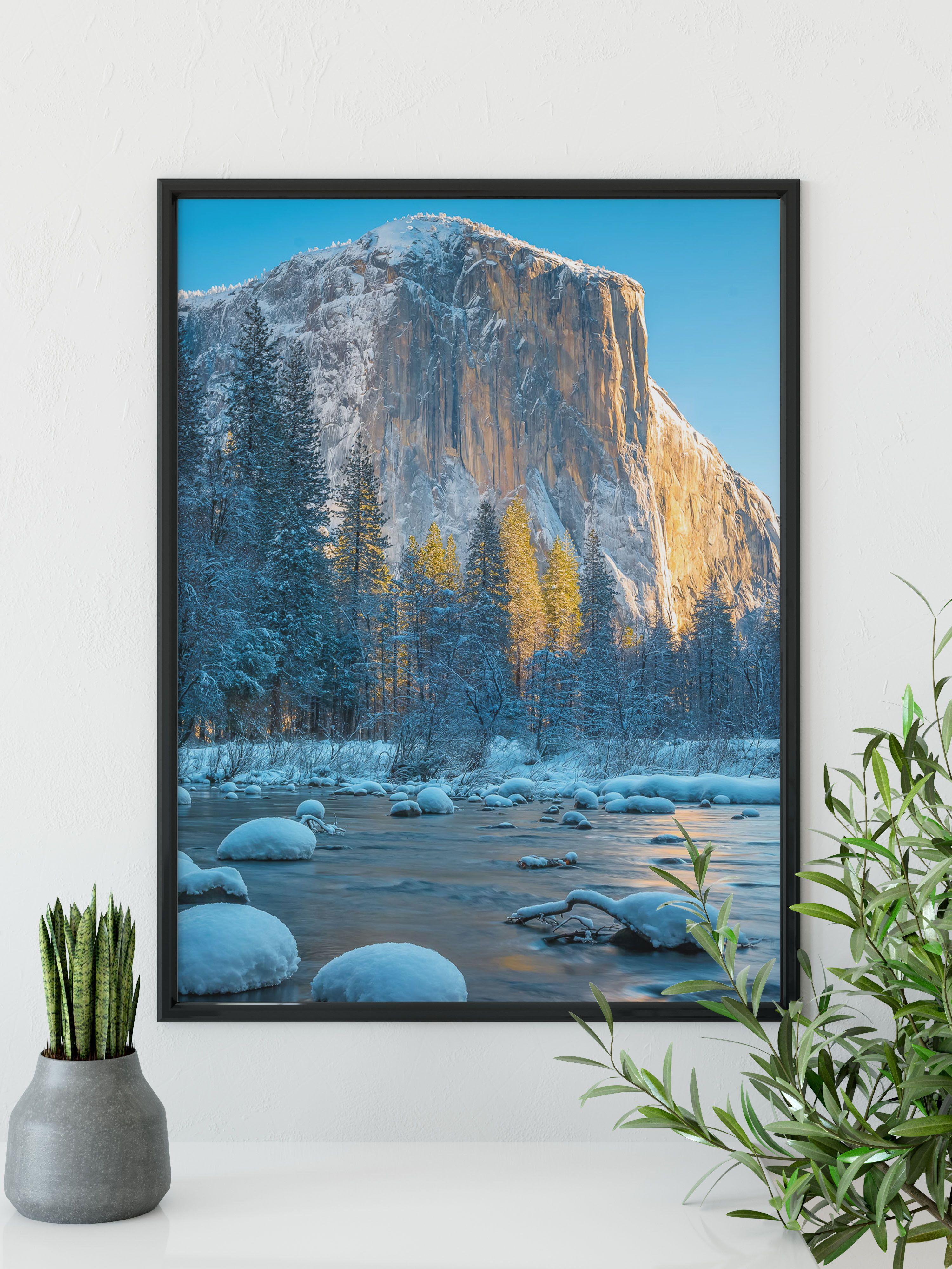 Landscape photography print yosemite national park print sierra