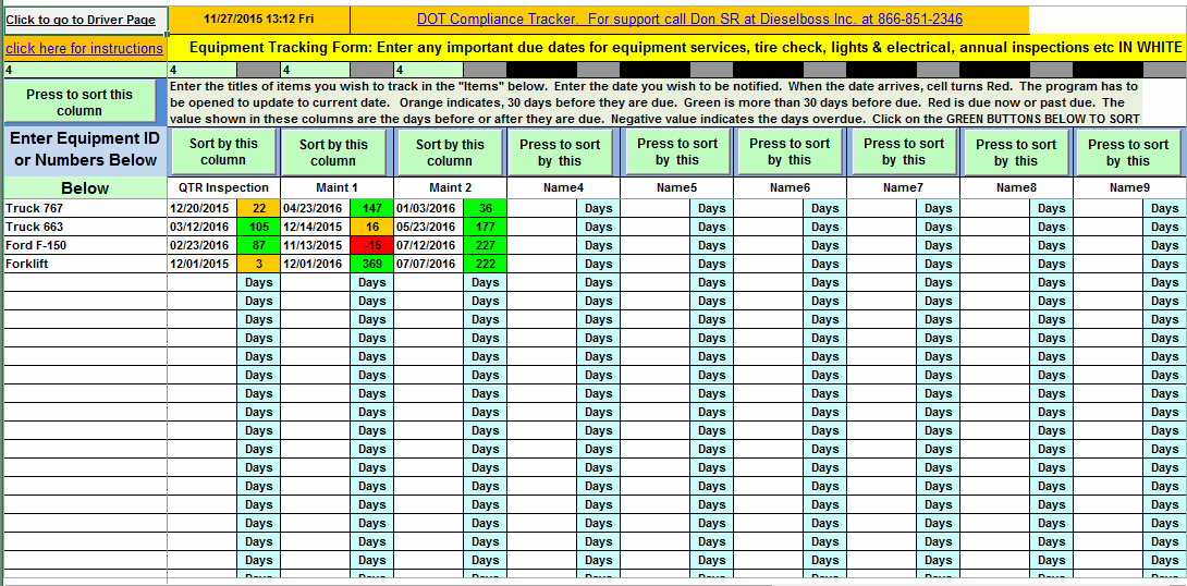 Software License Tracking Spreadsheet Business Templates