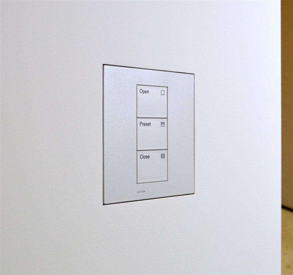 Wall Smart For Lutron Palladiom Square 1 Column Matt Lutron