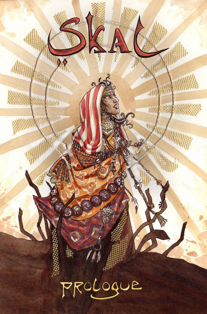 'Skal' - An online Graphic Novel by Jennie Gyllblad