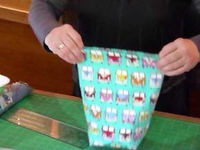 How to make That Drawstring Bag - Quilting Tips & Techniques 152