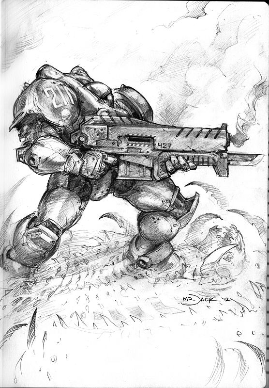 Marine by Mr--Jack on deviantART