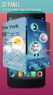 Next Launcher 3d Shell Apk Free Download For Android Best Android Phone Phone Themes Application Android