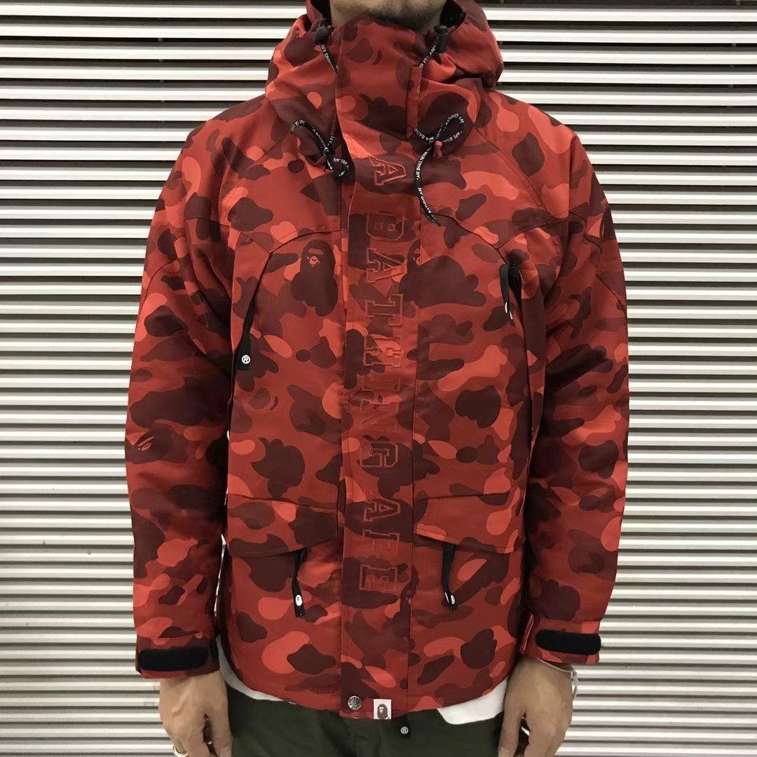 105c35d7df6c Bape Color Camo Snowboarding Jacket