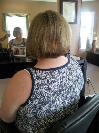 I love the back and front view! Short Bob