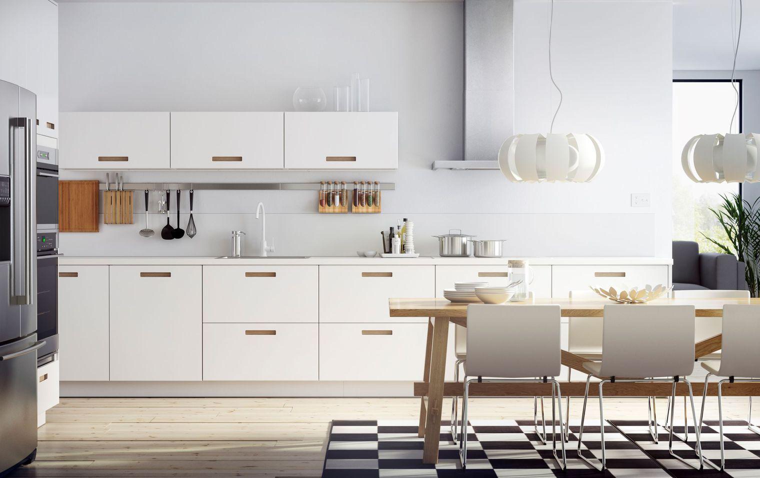 Feuille Stratifié Blanc Brillant cuisine blanche : 13 photos de cuisinistes | návrhy kuchyní