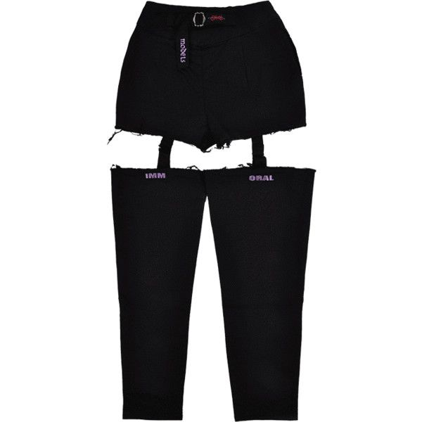 0e75f63c7 GARTER BELT PANTS ( 74) ❤ liked on Polyvore featuring pants