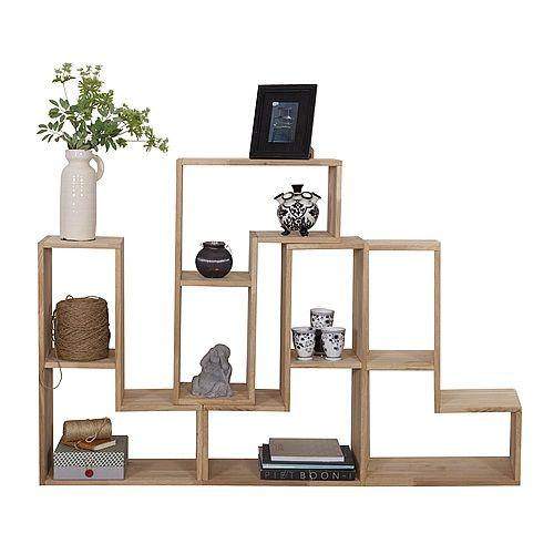 Woood Tetris Stapelkast/roomdivider Set Van 4