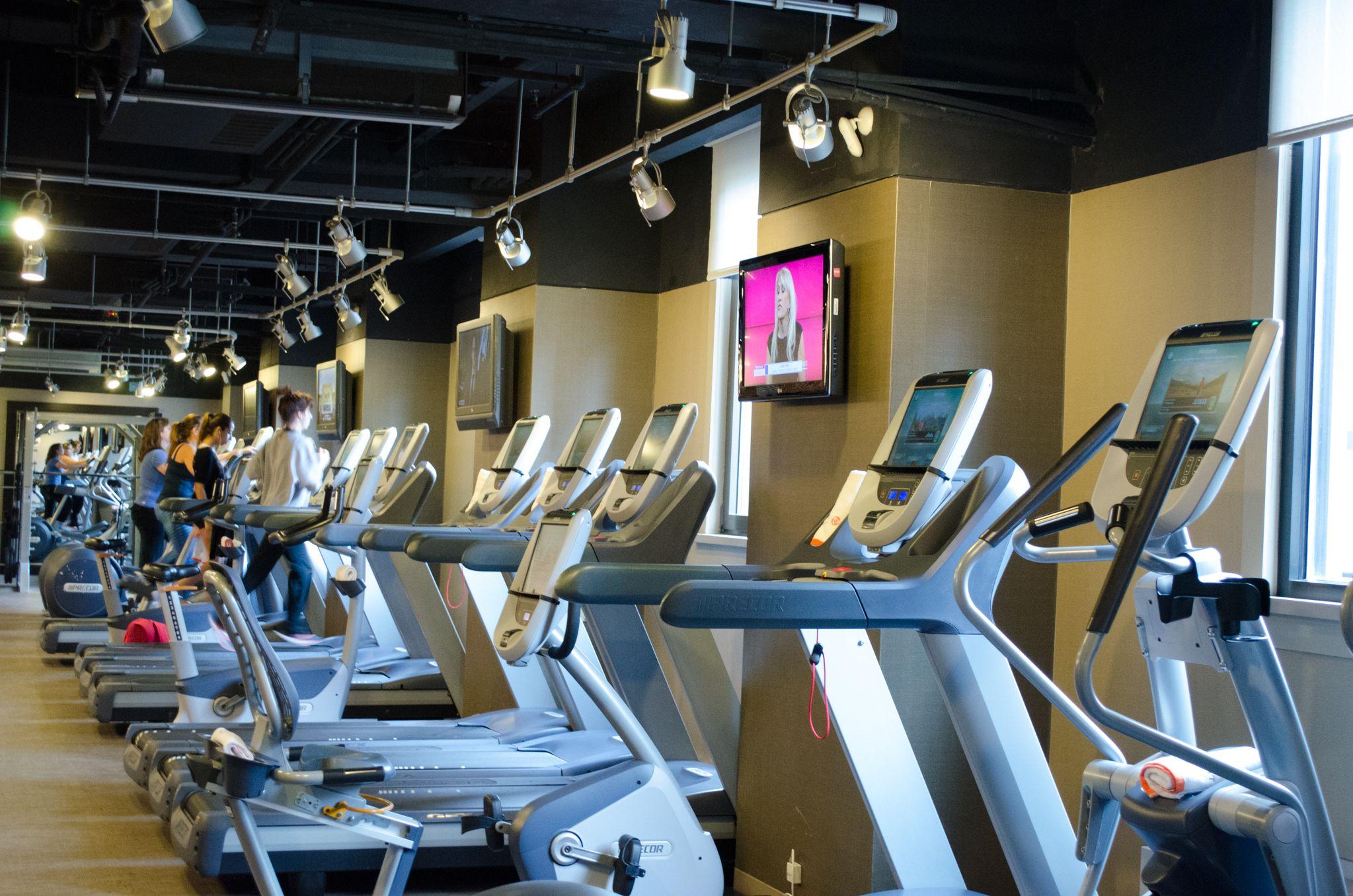 Treadmills Grand Hyatt Luxury Hotel Hyatt