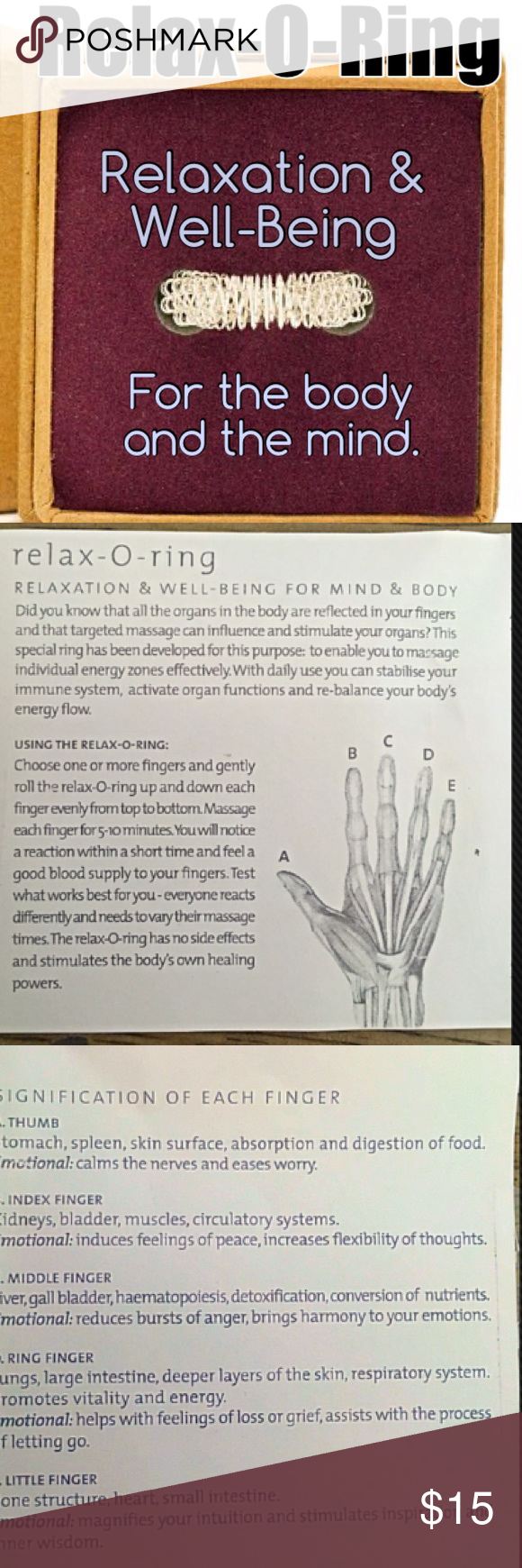 relaxation o-ring