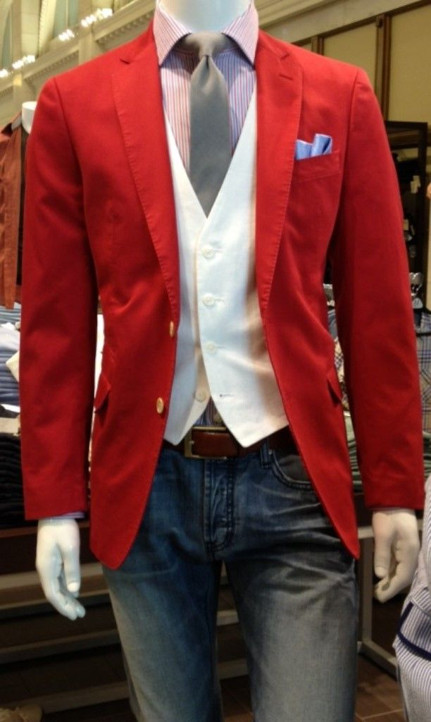 red white pronto blue try a colored sport coat for a stylish