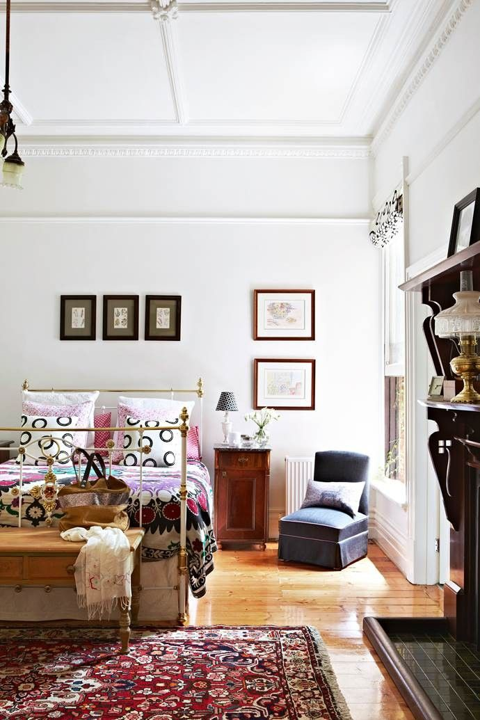 Pin by Maree Chan on houses Wrought iron beds, Federal
