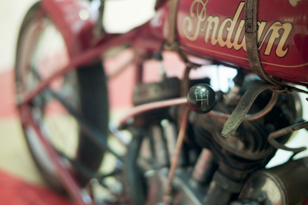 Indian Motorcycles, art in motion