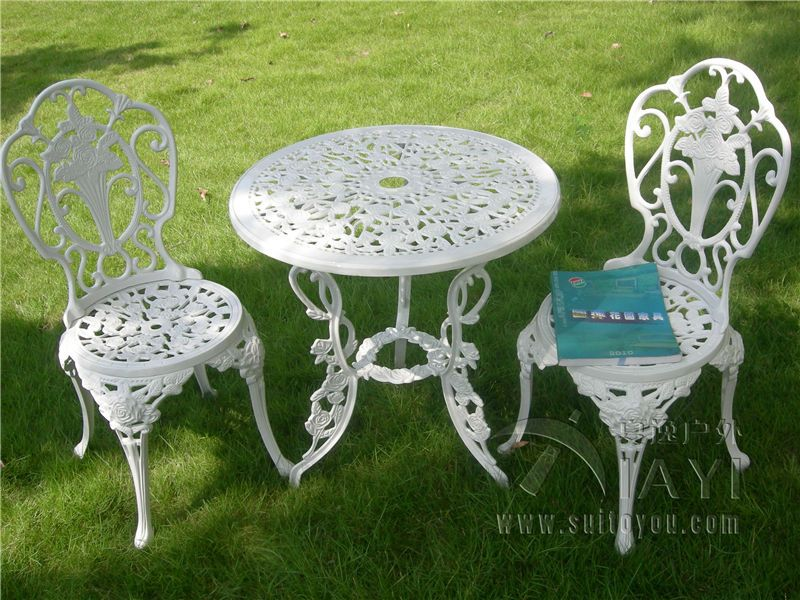 Online Get White Metal Patio Chairs Aliexpress