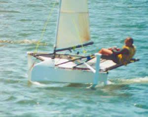 Brett Burvill Early Work On Moth Foils Fast Boats Boat
