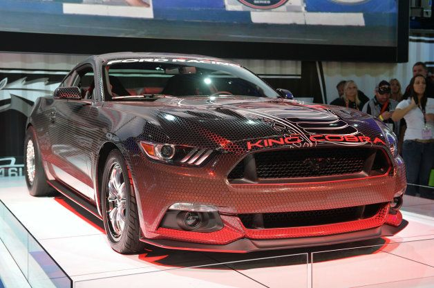 2015 Ford Mustang Invades Sema Led By King Cobra 2015 Ford Mustang Mustang Mustang Cobra