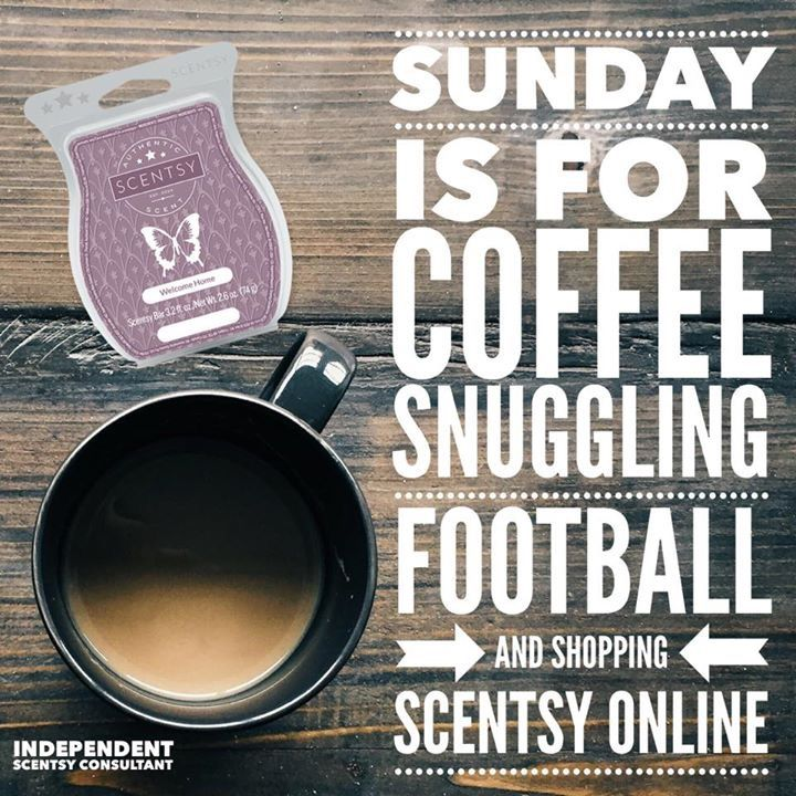 Sunday is for coffee, snuggling, football and shopping for