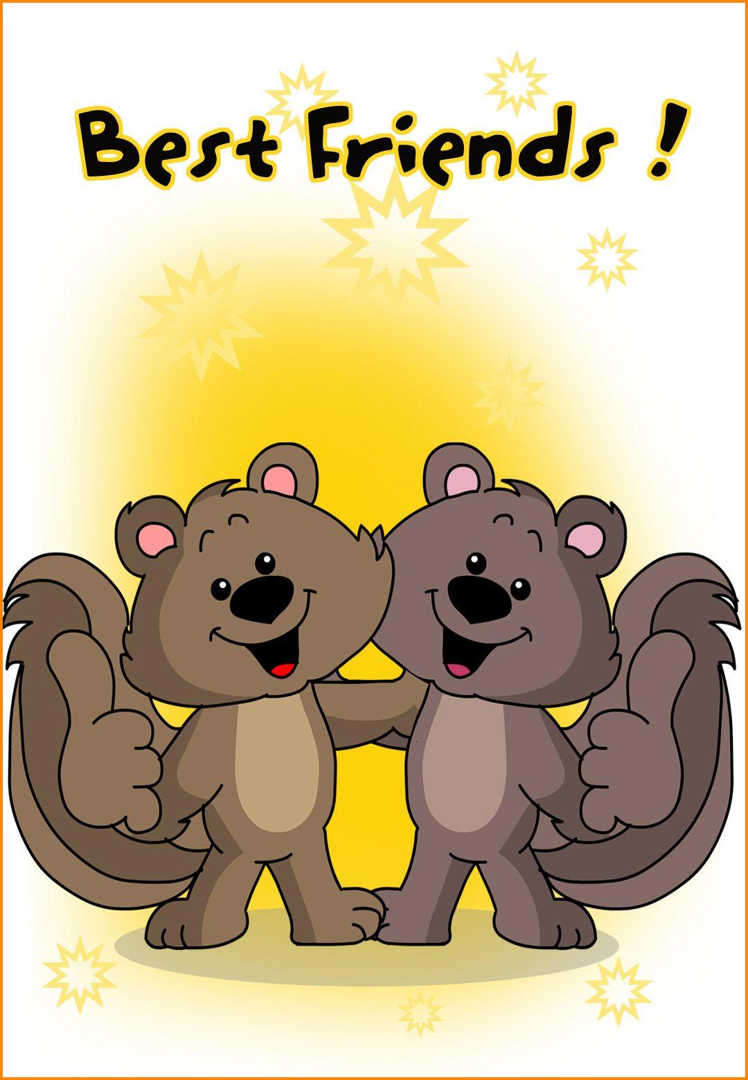 Free Printable Friendship Card Best Friends Greetings Island Best Birthday Wishes Friend Friendship Birthday Wishes