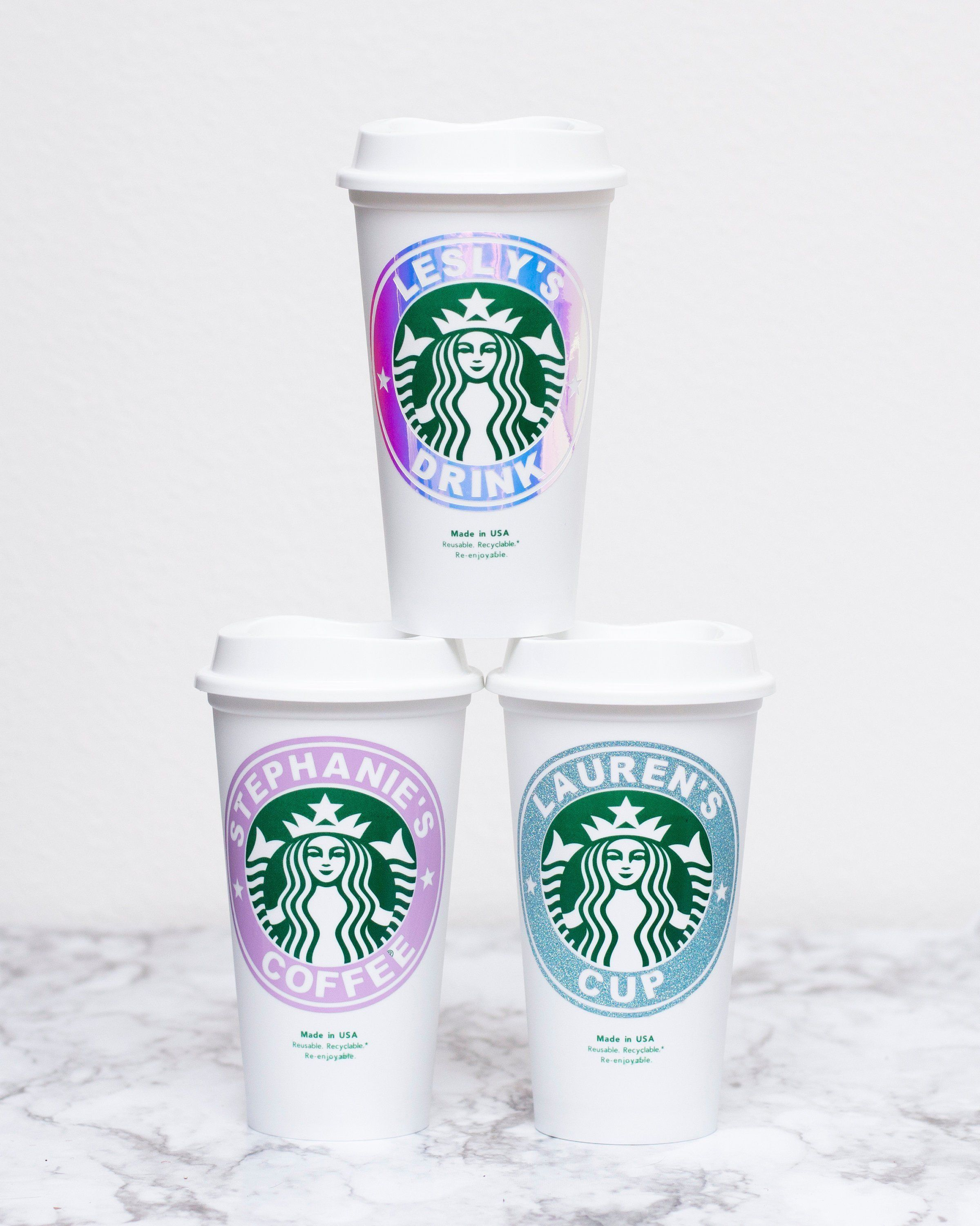 Personalized 16 Oz Starbucks Cup Tumbler Coffee Gift Etsy In 2020 Starbucks Cups Starbucks Coffee Gifts