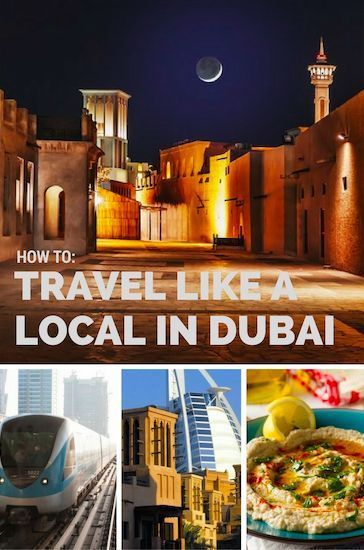 How To Travel Like A Local In Dubai!