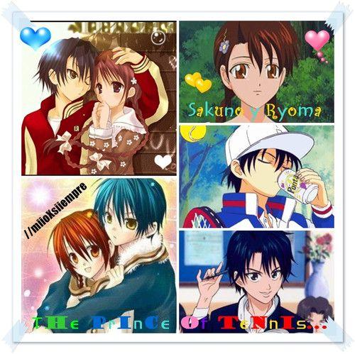 Sakuno Y Ryoma The Prince Of Tennis D