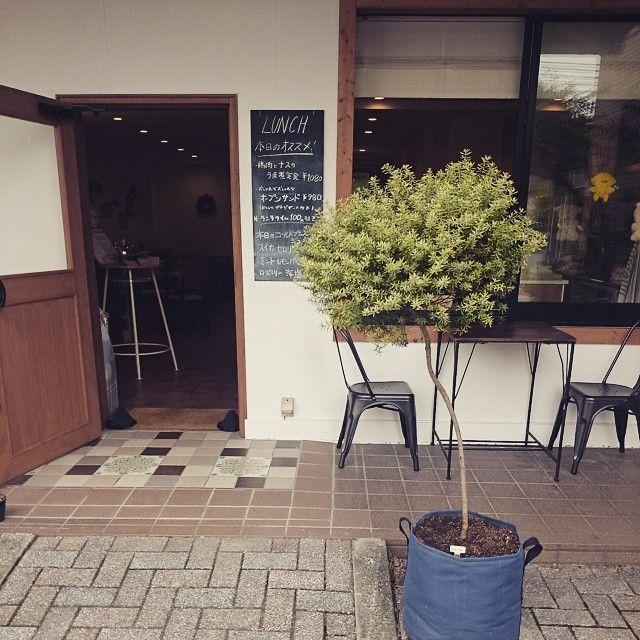 Un pot rond bacsac 50l couleur ardoise pour planter un petit arbre ...