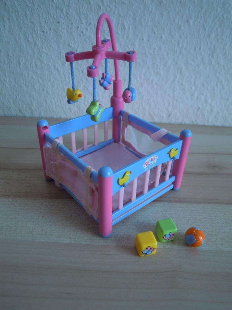 Baby Born Mini World Laufstall | Miniatures | Baby doll nursery ...