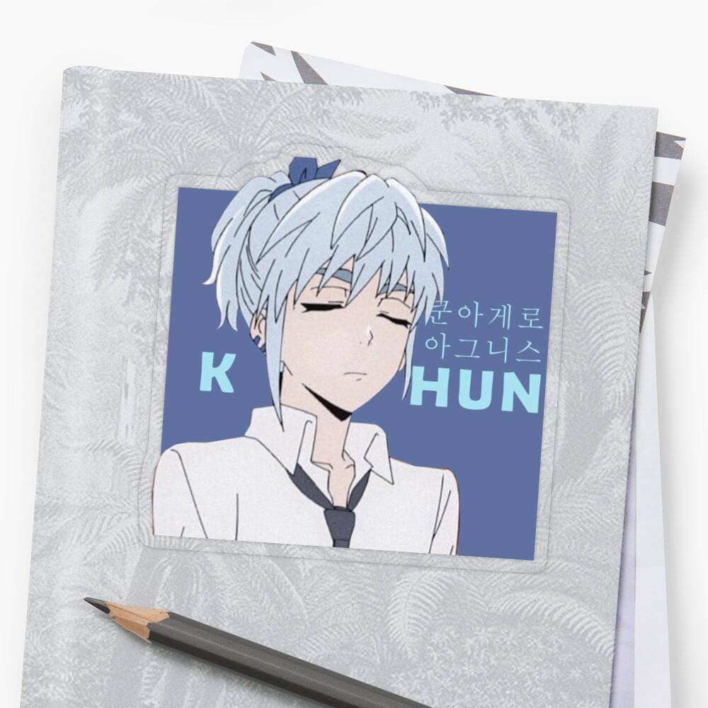 stickers khun aguero agnes princess yuri ja multi